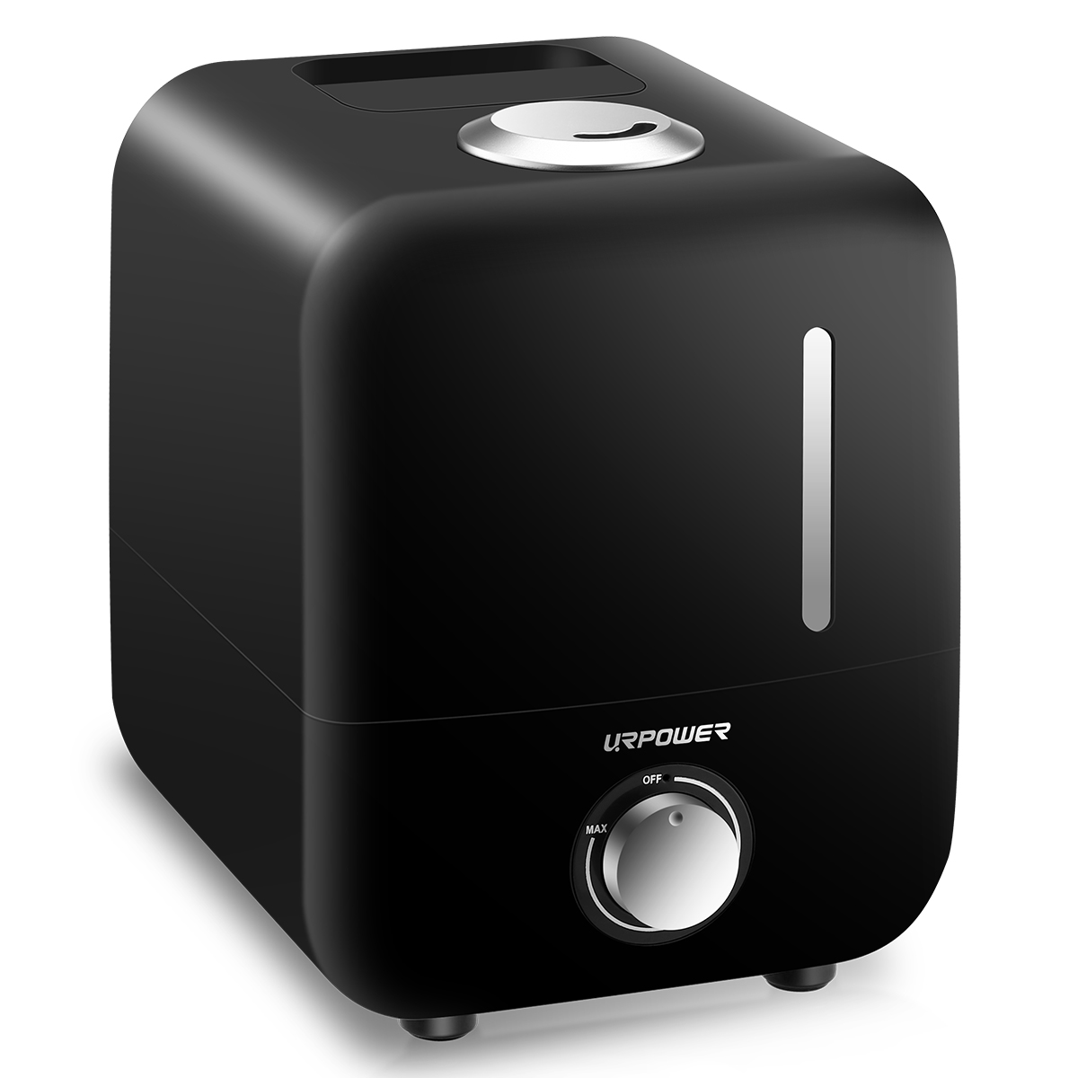 URPOWER Cool Mist Humidifier Waterless Auto Off with Filter Adjustable Mist Direction & Output